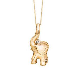 Ole Lynggaard - Halsband Elefant 18K med Diamant - A1383-401 - Juvelerare Hugo Nilsson